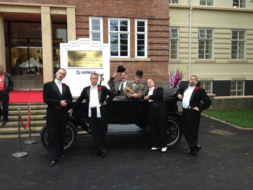 Casablanca Steps with Laurel & Hardy