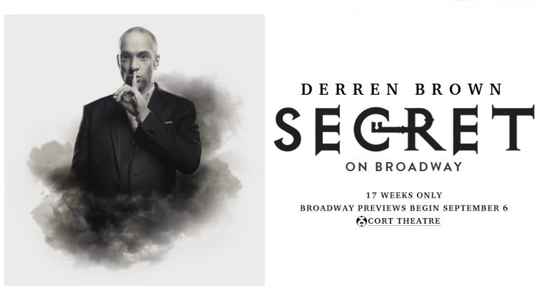 Derren Brown Secret on Broadway 2019